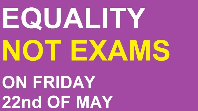 Equality not exams