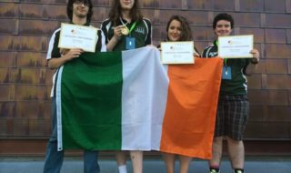 Four students represented Ireland in the international Linguistics Olympaid in Bulgaria last week.