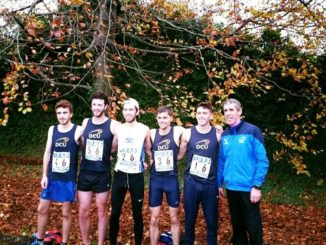 DCU Athletes after completing the IUAA Road Race. Credit: Lilly-Ann O'Hora