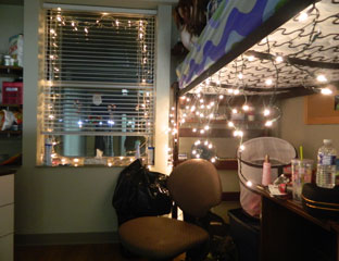 there - College Christmas Decorations