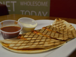 Quesadilla from the Nubar in DCU CREDIT Demetra Demetriades
