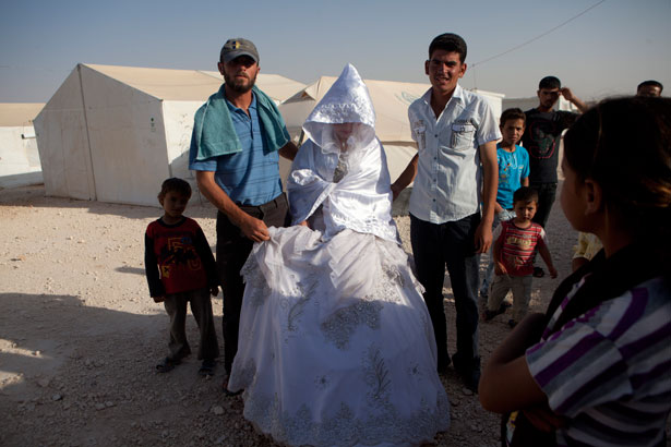 Image result for refugees weddings Iraq