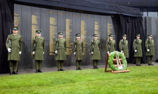 1916 Commemoration Wall in Glasnevin Cemetery CREDIT UTV