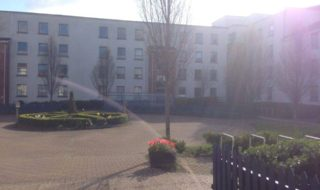 Campus accommodation CREDIT Andrew Byrne