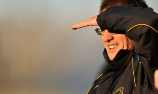 3 January 2015; DCU manager Niall Moyna. Longford v DCU - Bord na Mona O'Byrne Cup Group C Round 1. Pearse Park, Longford. Picture credit: Barry Cregg / SPORTSFILE