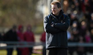 21 February 2015; DCU manager Niall Moyna. Independent.ie Sigerson Cup Final, UCC v DCU. The Mardyke, Cork. Picture credit: Diarmuid Greene / SPORTSFILE