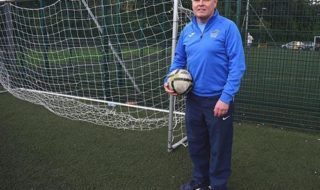 DCU Soccer Development Officer Fran Butler feels some added steel will improve Declan Roche's team. Credit: Laura Horan