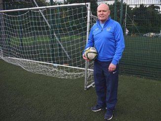 DCU Soccer Development Officer Fran Butler feels some added steel will improve Declan Roche's team. Credit: Laura Horan