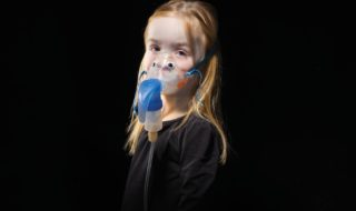 Hard-hitting campaign photo for for Orkambi, a drug to treat Cystic Fibrosis. Photo Credit  Simon Burch