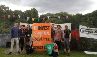 Fossil Free TCD began last summer when a recent alumnus, inspired by the global divestment campaign