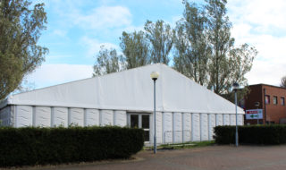 DCUSU erected a marquee on Glasnevin campus to host events during first month