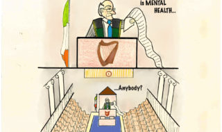 The announcement of Budget 2017 saw various speeches given about each little increase in spending and decrease in taxation. Mental health reform was not the subject of a single speech.Illustration Credit: Laura Duffy