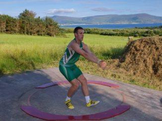 King training for Team Ireland. Credit: Irish Examiner
