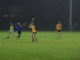Patrick Curran pointed eight frees despite the inclement weather at St. Clare's. Credit: Andrew Byrne