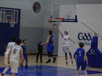 DCU's superiority on the boards was the key to their win over Moycullen. Credit: Darragh Culhane