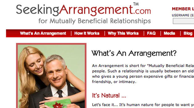 arrangement dating websites Seeking arrangement is a dating site, which means most of the men here are eventually hoping to have sex isn't that the point of dating.