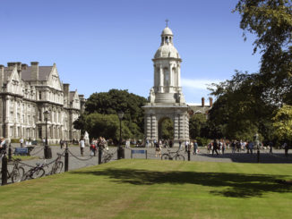 Trinity College front square. Credit: TCD