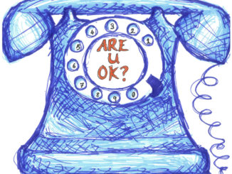 Having the option of phone counselling, means that help is only a few seconds away. Credit: Laura Duffy