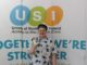 Delegate, Marz Keane, pictured on the second day of the USI Congress.