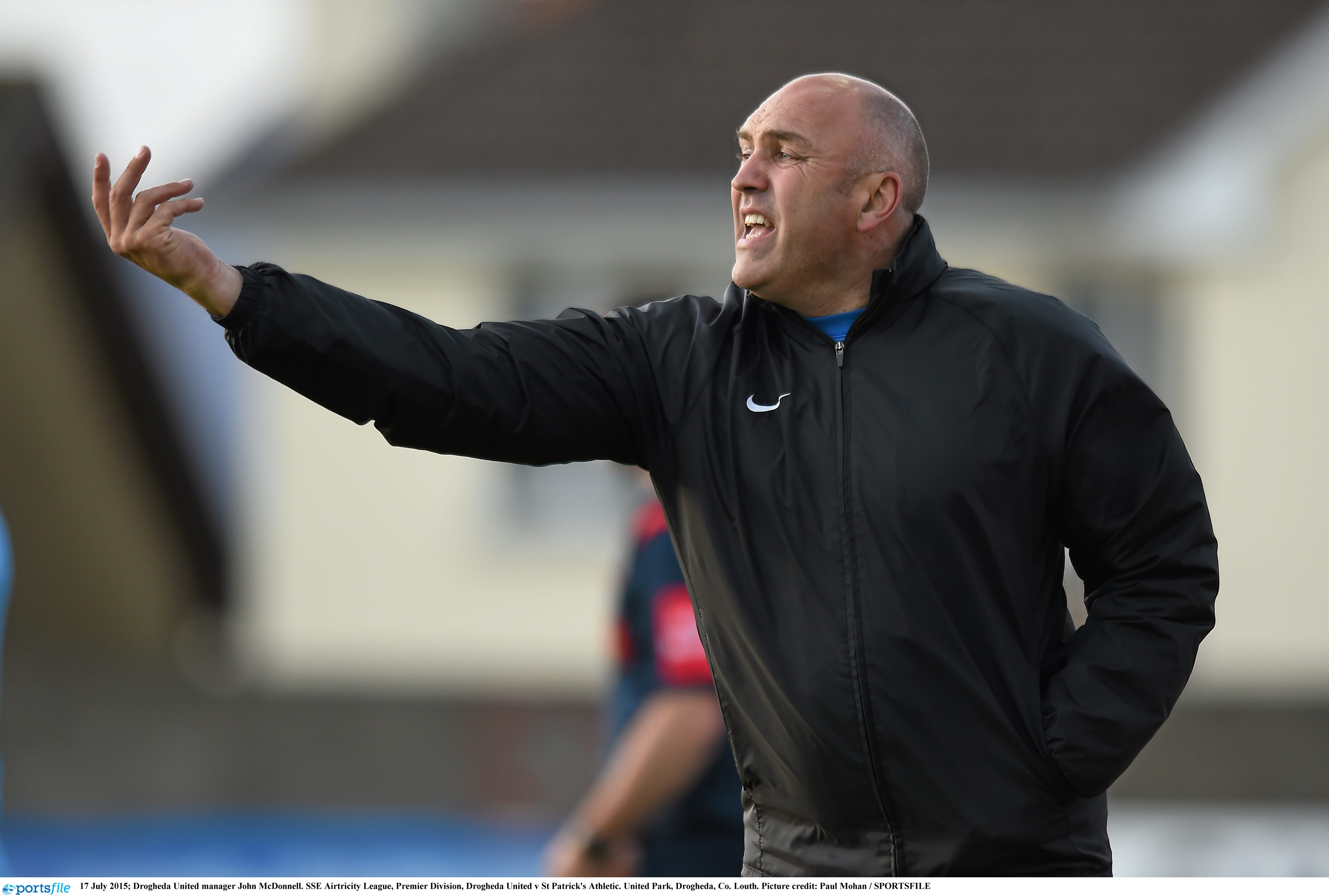 New DCU Assistant boss Johnny McDonnell during his time at Drogheda United Picture credit: Paul Mohan/Sportsfile