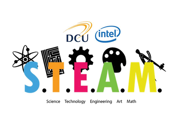 DCU's STEAM Hackathon is first of it's kind in Ireland and took place in St Patrick's College's main auditorium. Image Credit: DCU