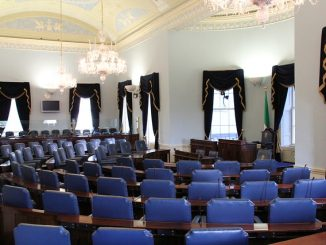 Empty seats in the Seanad